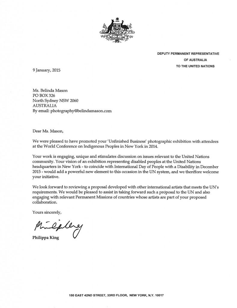 Deputy Permanent Representative To The Un Phillipa King